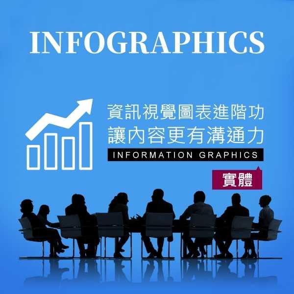 資訊視覺圖表進階功,讓內容更有溝通力